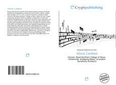 Bookcover of Alison Lambert
