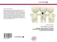 Bookcover of Giovanni Carestini