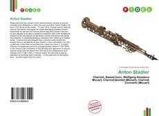 Anton Stadler kitap kapağı