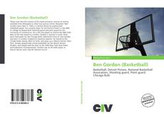 Bookcover of Ben Gordon (Basketball)
