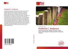 Bookcover of Frederick C. Anderson