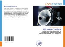 Bookcover of Mécanique Statique