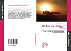 Bookcover of 363d Air Expeditionary Wing