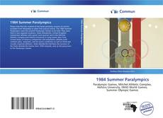 Bookcover of 1984 Summer Paralympics