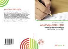 John Patton (1823–1897) kitap kapağı