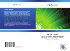 Temps Propre kitap kapağı