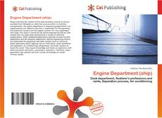 Copertina di Engine Department (ship)
