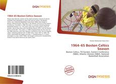 Portada del libro de 1964–65 Boston Celtics Season