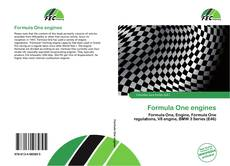 Bookcover of Formula One engines