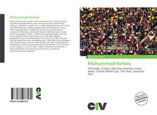 Bookcover of Mohammad Hafeez