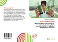 Micropropagation kitap kapağı