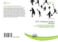 Portada del libro de 1977–78 Boston Celtics Season