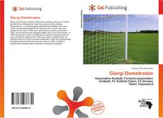Bookcover of Giorgi Demetradze