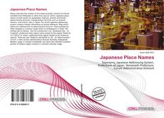 Bookcover of Japanese Place Names