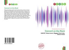 Bookcover of Concert on the Rock