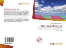 Bookcover of Abdul Qadir (Cricketer)