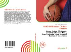 Portada del libro de 1985–86 Boston Celtics Season