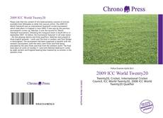 Bookcover of 2009 ICC World Twenty20