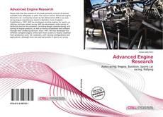 Portada del libro de Advanced Engine Research
