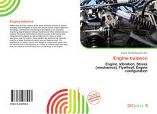 Bookcover of Engine balance
