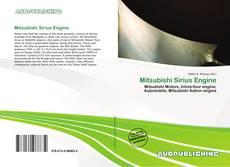 Mitsubishi Sirius Engine的封面