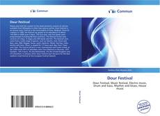 Bookcover of Dour Festival