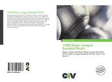 Bookcover of 1998 Major League Baseball Draft