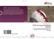 Copertina di 1957 St. Louis Cardinals season