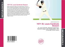 Couverture de 1971 St. Louis Cardinals Season
