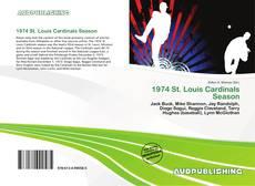 Copertina di 1974 St. Louis Cardinals Season