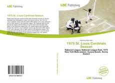 Capa do livro de 1975 St. Louis Cardinals Season