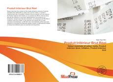 Bookcover of Produit Intérieur Brut Réel