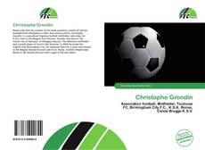 Bookcover of Christophe Grondin