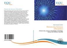 Couverture de Histoire des Sciences (Discipline)