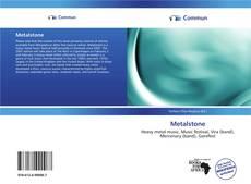 Buchcover von Metalstone