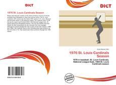 Capa do livro de 1976 St. Louis Cardinals Season