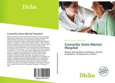 Bookcover of Camarillo State Mental Hospital