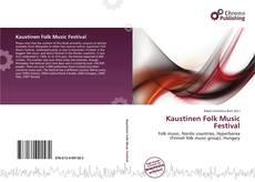 Buchcover von Kaustinen Folk Music Festival