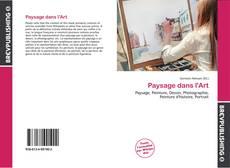 Paysage dans l'Art kitap kapağı