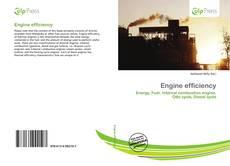 Обложка Engine efficiency