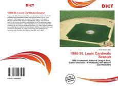 Buchcover von 1986 St. Louis Cardinals Season