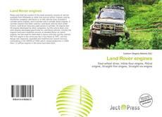 Portada del libro de Land Rover engines