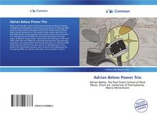 Capa do livro de Adrian Belew Power Trio
