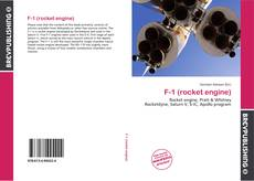 Bookcover of F-1 (rocket engine)
