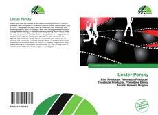 Capa do livro de Lester Persky