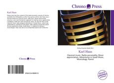 Bookcover of Karl Haas