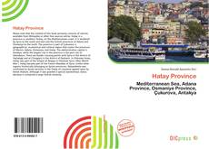 Bookcover of Hatay Province