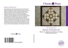 Couverture de History of Eastern Art