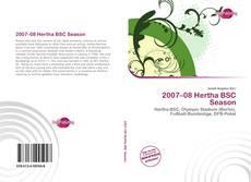 Bookcover of 2007–08 Hertha BSC Season