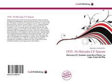 Bookcover of 1935–36 Hércules CF Season